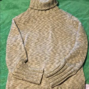Green and gold GAP sweater size Large